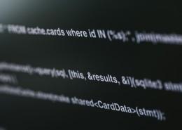 电脑屏幕上复杂的代码图片_10张