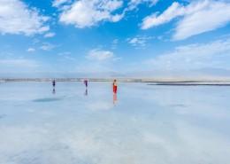 青海茶卡盐湖自然风景图片_9张