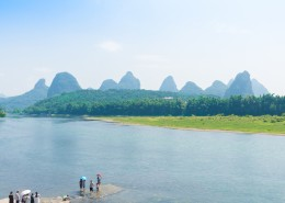 廣西桂林漓江自然風景圖片_9張