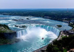 加拿大尼亞加拉大瀑布風景圖片_13張