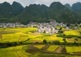 贵州万峰林自然风景图片_18张
