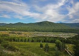 新疆禾木自然風景圖片_8張