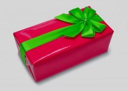 紅色生日包裝盒圖片_10張
