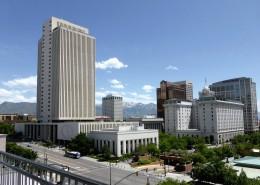 美国盐湖城城市风景图片_9张