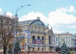 烏克蘭首都基輔城市風景圖片_13張