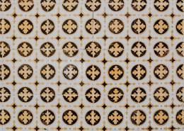 圖案規律的釉面瓷磚圖片_10張