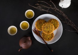 中秋节广式月饼图片_12张
