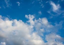 藍天白云美麗風景圖片_15張