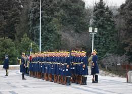 整齊劃一的士兵隊伍圖片_14張