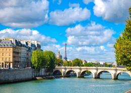 法国塞纳河畔自然风景图片_9张