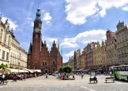 波蘭弗羅茨瓦夫城市風景圖片_9張