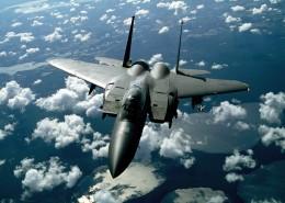 空中的戰斗機圖片_12張