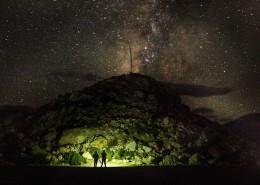 布满星星的夜空图片_13张