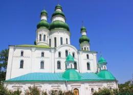 烏克蘭圣索菲亞大教堂城市風景圖片