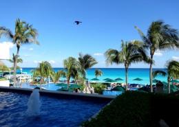 墨西哥尤卡坦半岛坎昆度假海滨城市风景图片_13张