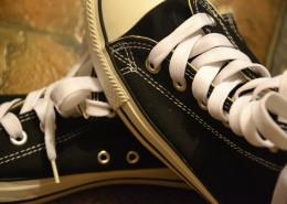 清新文艺的帆布鞋图片_12张