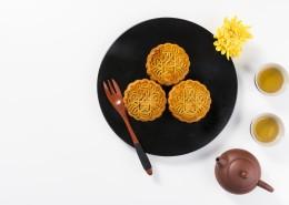美味的中秋节广式月饼图片_9张