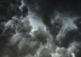 布滿烏云的天空圖片_11張