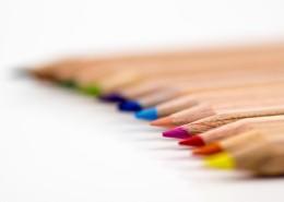 色彩繽紛的彩色鉛筆圖片_10張