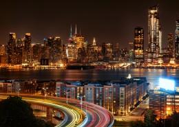 璀璨繁華的城市夜景圖片_11張