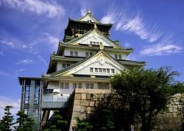 日本大阪城公园城市风景图片_9张