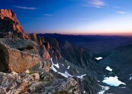 綿延不斷雄偉的高山自然風景圖片_9張