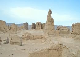新疆吐魯番高昌故城自然風景圖片_8張