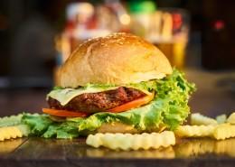 誘人的漢堡包圖片_10張