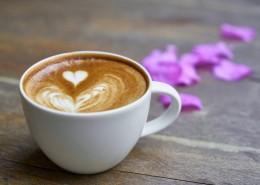 香濃的咖啡拉花圖片_10張
