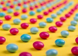五彩巧克力糖果图片_10张
