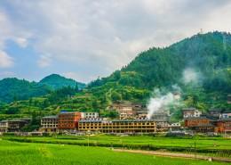 贵州黔东南西江千户苗寨自然风景图片_10张
