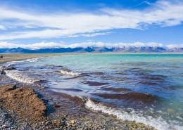 西藏羊卓雍措自然風景圖片_9張