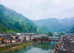 江西瑶里古镇建筑风景图片_14张