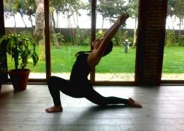 修身养心的瑜伽动作图片_12张
