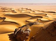 沙漠沙丘风光精美桌面壁纸