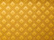 黄色花纹背景图片素材
