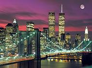 唯美高清的城市夜景壁纸