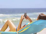 假日海滩精美桌面壁纸