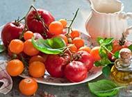 苹果壁纸高清水果蔬菜之西红柿图片