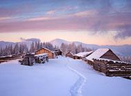 壁纸图片大全唯美经典雪景
