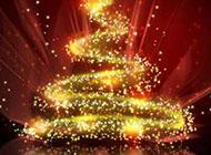 炫酷圣誕節背景圖片