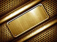 纯金色金属背景图片