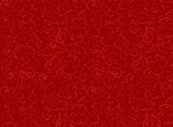 背景图片大全 复古红色花纹