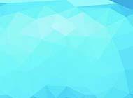 几何图案时尚蓝色背景图片