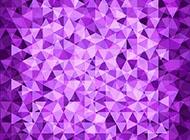 紫色幾何體背景圖里面三角形
