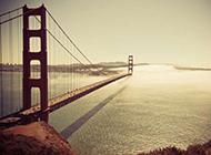美国旧金山美丽风景桌面壁纸