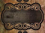 高清复古花纹背景图片