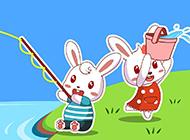 兔小贝可爱兔子高清桌面壁纸