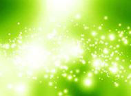 白色閃亮空間綠色背景圖片