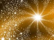 闪闪发亮的星光黄色背景图片